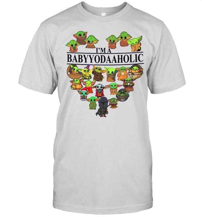 Heart I'm A Babyyodaaholic 2021 shirt