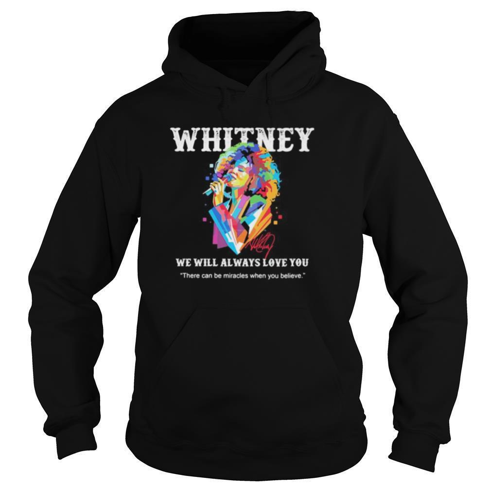 Whitney Houston Official Always Love You Portrait Sweatshirt