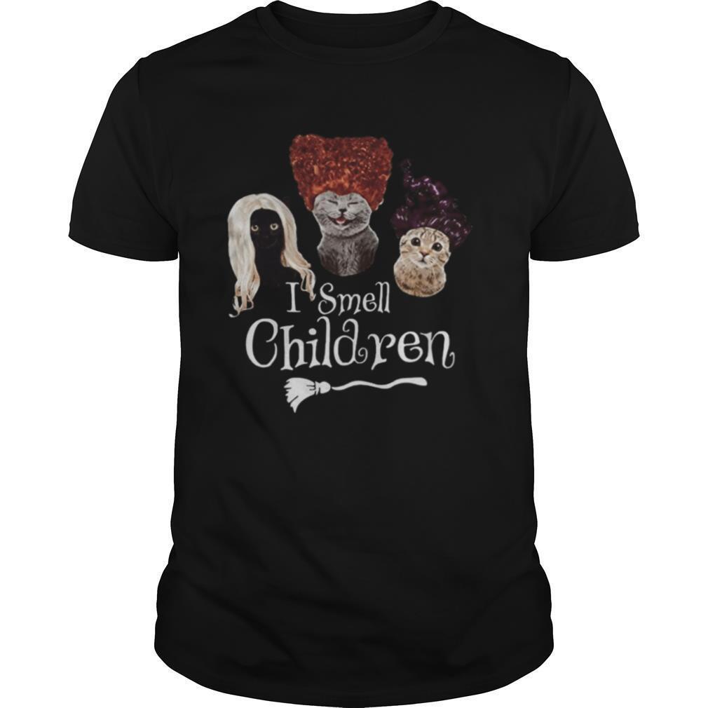 Halloween cats hocus pocus i smell children shirt Classic Men's
