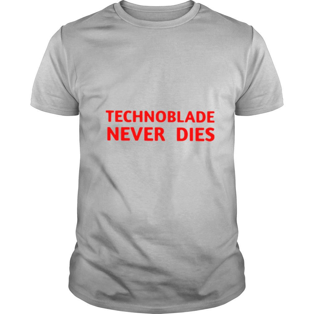 Technoblade 4 Never Dies shirt Classic Men's