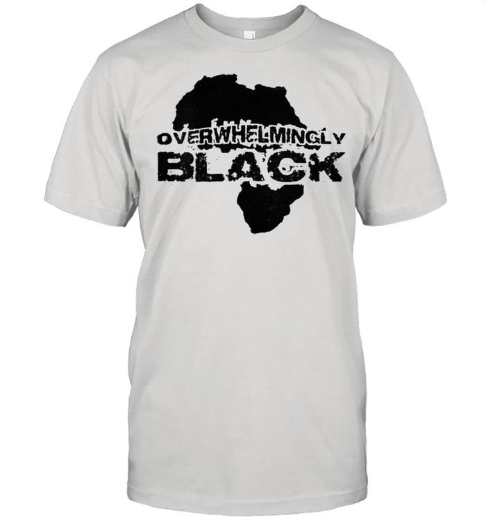 Overwhelmingly Black shirt Classic Men's