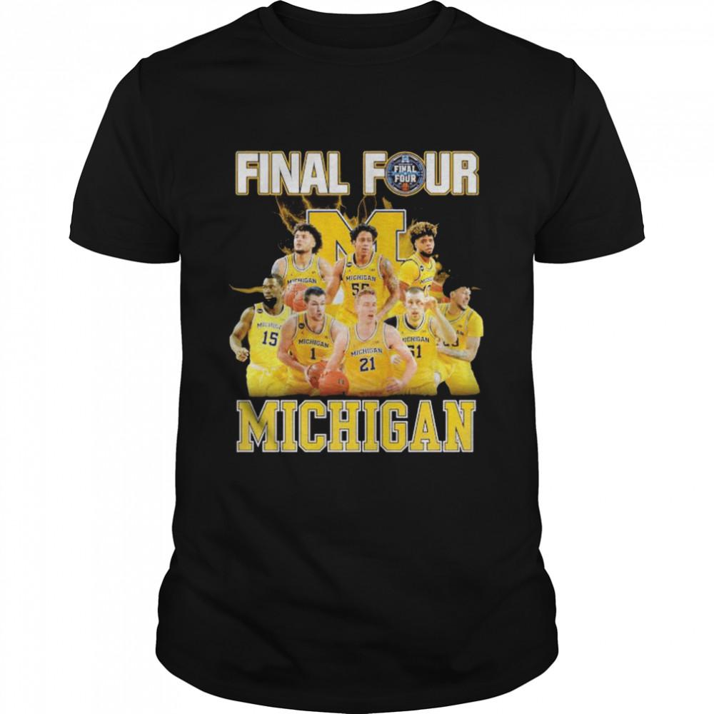 2021 Men's Basketball Final Four Michigan shirt Classic Men's T-shirt