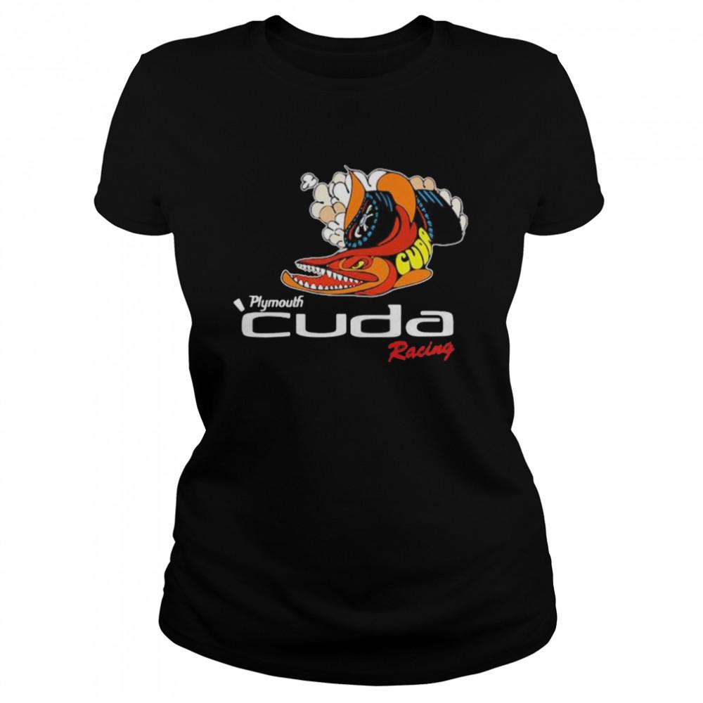 Plymouth Cuda Racing Logo  Classic Women's T-shirt