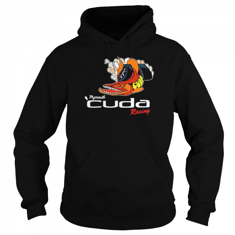 Plymouth Cuda Racing Logo  Unisex Hoodie