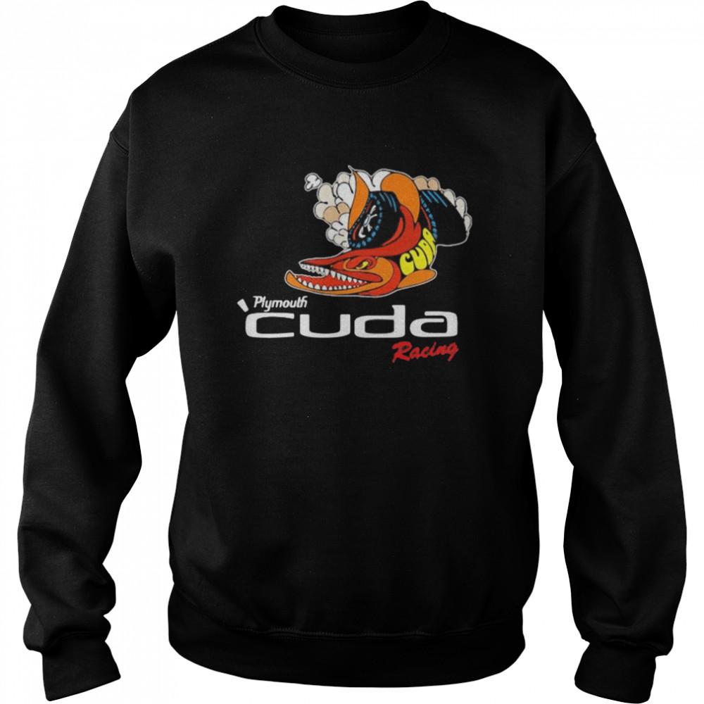 Plymouth Cuda Racing Logo  Unisex Sweatshirt