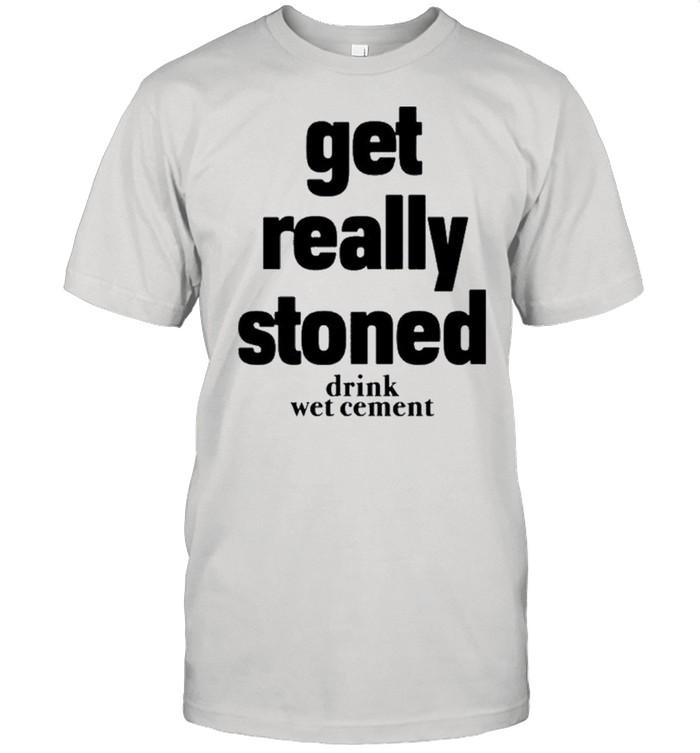 Matthew get really stoned drink wet cement shirt Classic Men's T-shirt