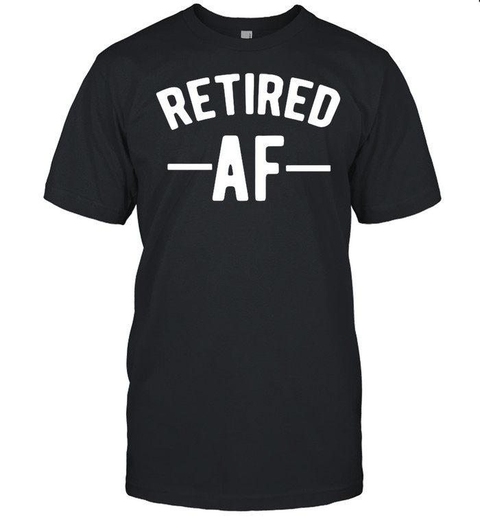 Retired AF Vaccinated shirt Classic Men's T-shirt