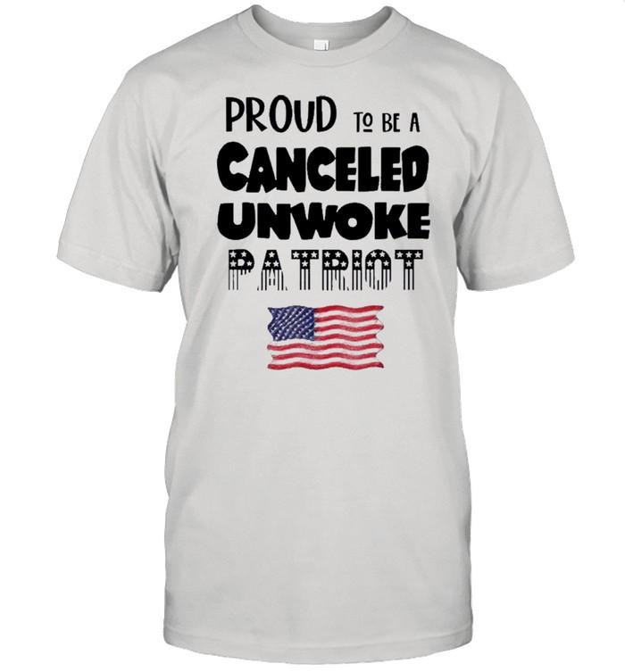 Proud to be Canceled Unwoke Patriot Political shirt Classic Men's T-shirt