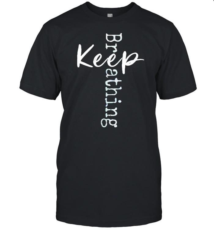 Keep Breathing shirt Classic Men's T-shirt