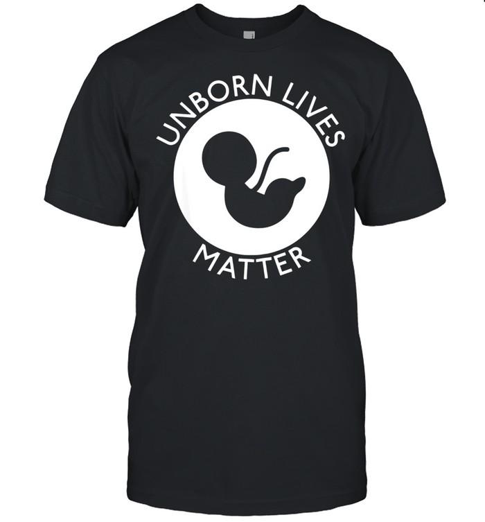 Unborn Lives Matter shirt Classic Men's T-shirt