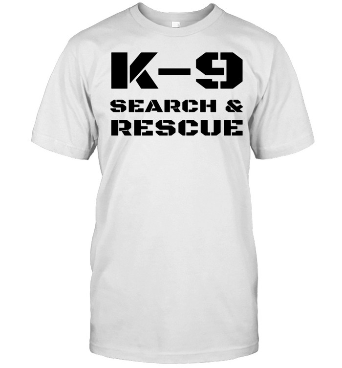 K9 Search And Rescue Dog Handler Trainer SAR K9 Team Unit shirt Classic Men's T-shirt