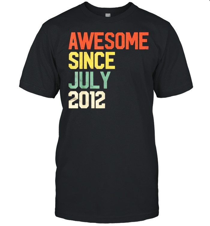 Awesome Since July 2012  Classic Men's T-shirt