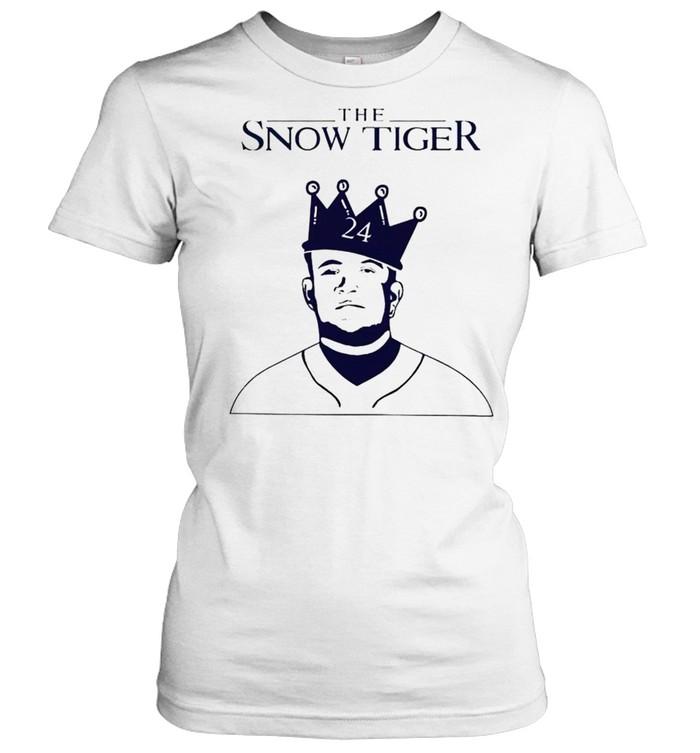Miguel Cabrera the snow tiger shirt Classic Women's T-shirt