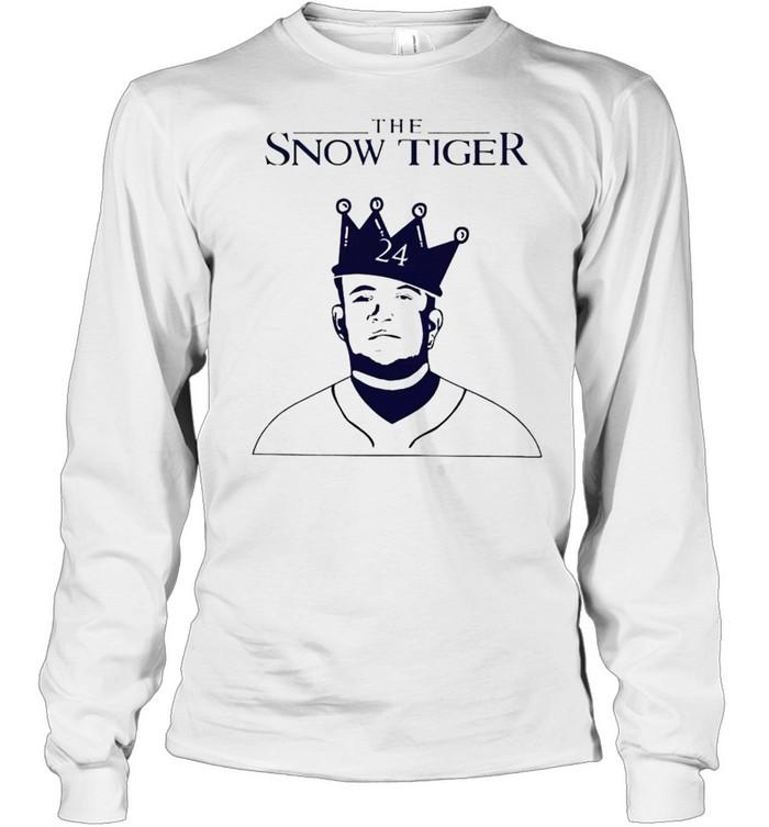 Miguel Cabrera the snow tiger shirt Long Sleeved T-shirt