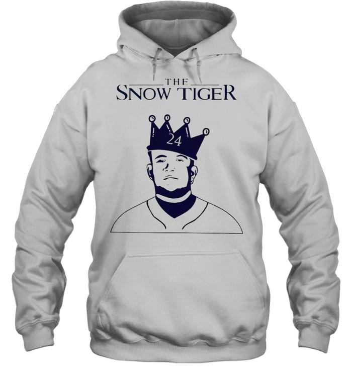 Miguel Cabrera the snow tiger shirt Unisex Hoodie