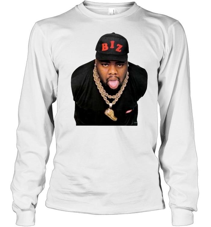 Rap legend Mr Biz Markie t-shirt Long Sleeved T-shirt