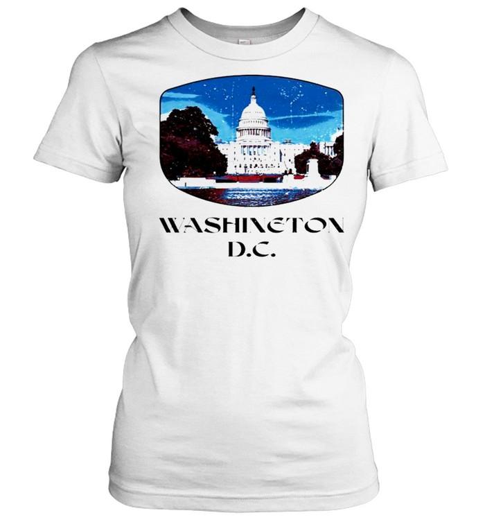 Washington D.C. Capitol Hill shirt Classic Women's T-shirt
