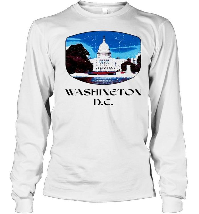 Washington D.C. Capitol Hill shirt Long Sleeved T-shirt