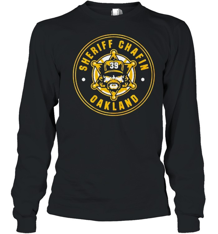 Sheriff Andrew Chafin shirt Long Sleeved T-shirt