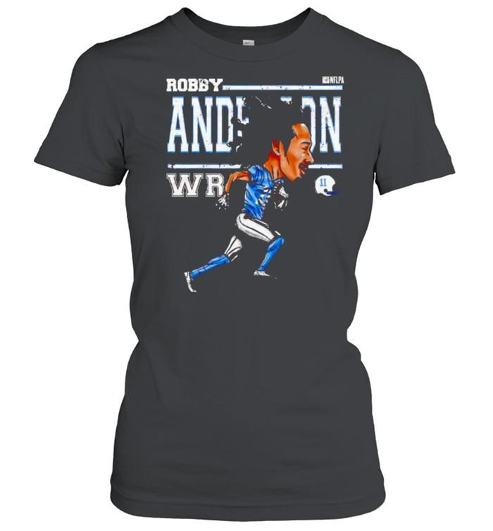 Carolina Panthers Robby Anderson cartoon shirt Classic Women's T-shirt