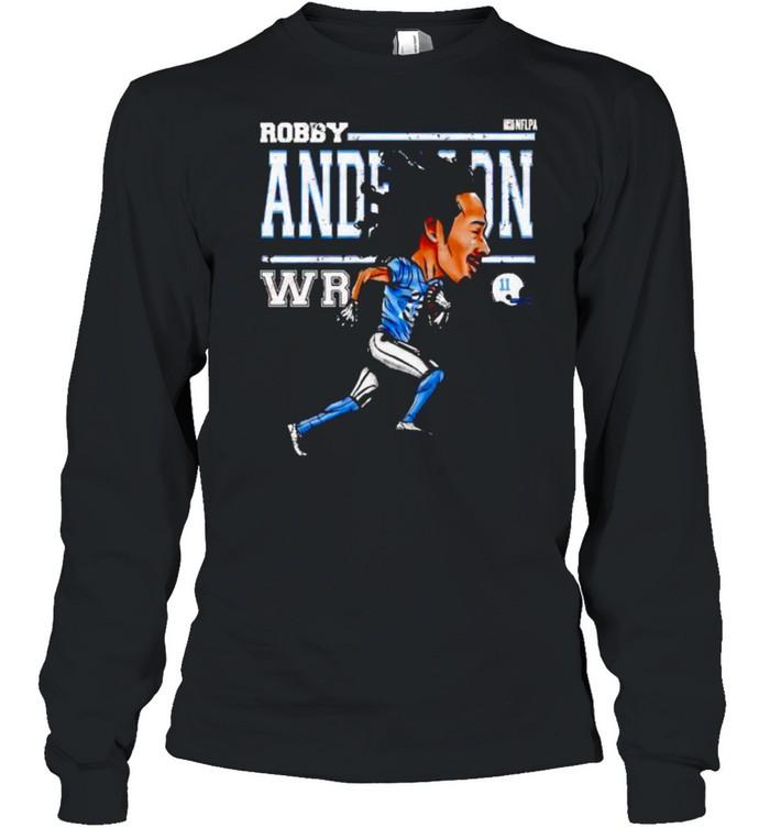 Carolina Panthers Robby Anderson cartoon shirt Long Sleeved T-shirt