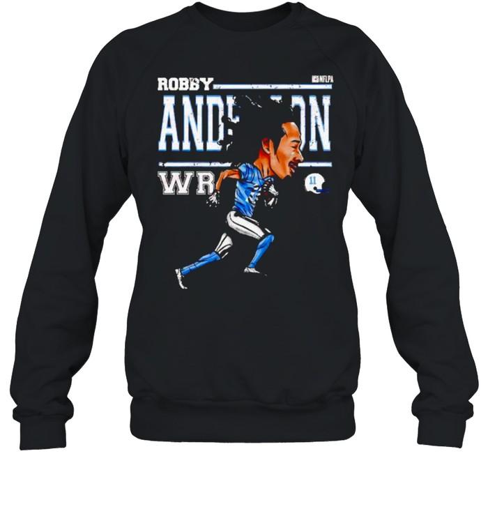 Carolina Panthers Robby Anderson cartoon shirt Unisex Sweatshirt