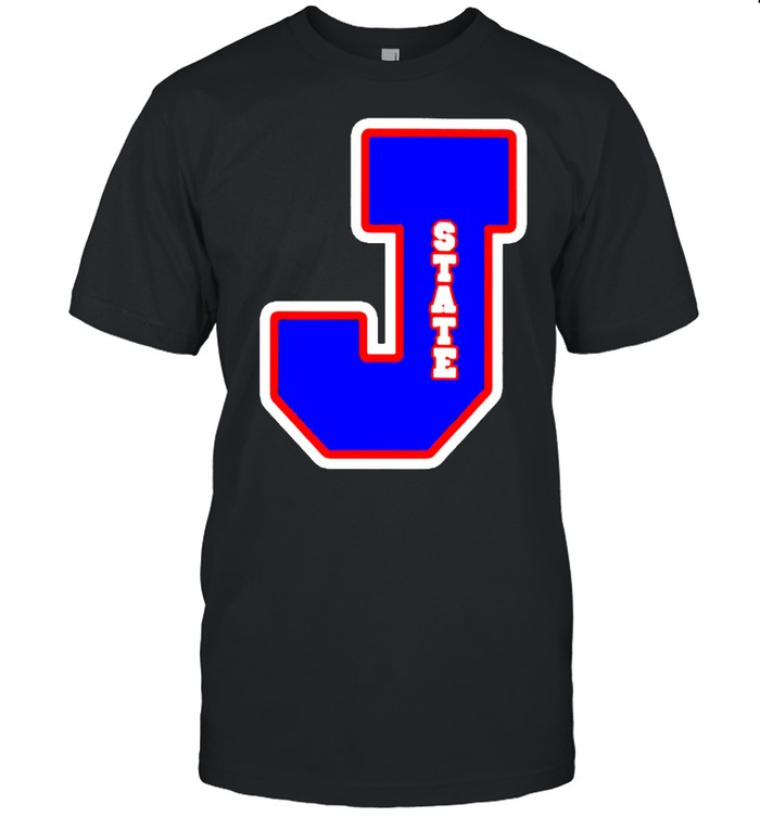 Jackson State Tigers J state letterman shirt Classic Men's T-shirt