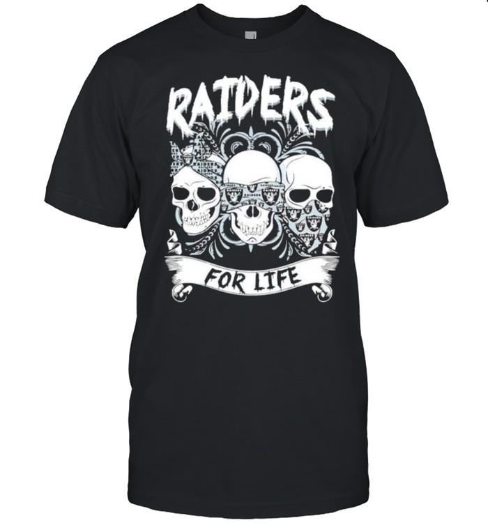 Skull Raiders for life shirt Classic Men's T-shirt