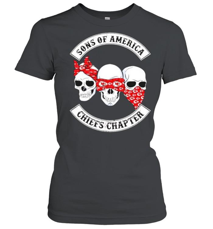 Skulls sons of America Cheifs chapter shirt Classic Women's T-shirt