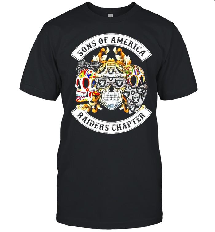 Skulls sons of America Raiders chapter shirt Classic Men's T-shirt