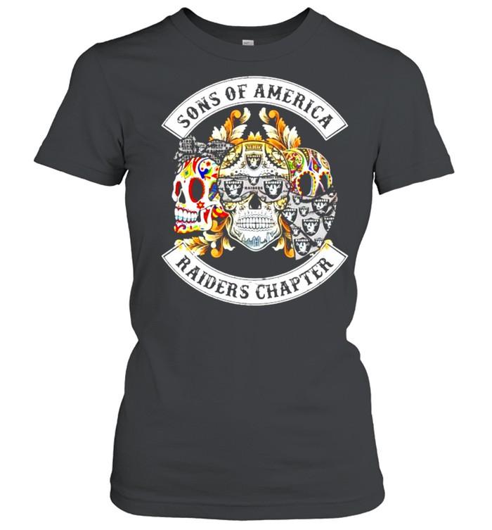 Skulls sons of America Raiders chapter shirt Classic Women's T-shirt